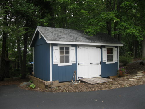 Blue Classic Cottage