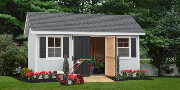 garden shed in fredericksburg virginia